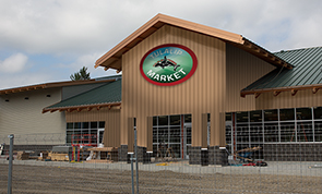Tulalip Market just prior to the grand opening at our convenient location just off I-5 on 116th Street NE, Exit 202 – the place for gas, growlers, wine, liquor, deli items, and more