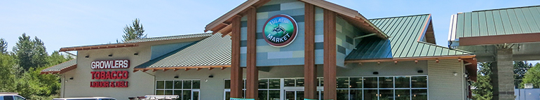 Tulalip Market website site map header image
